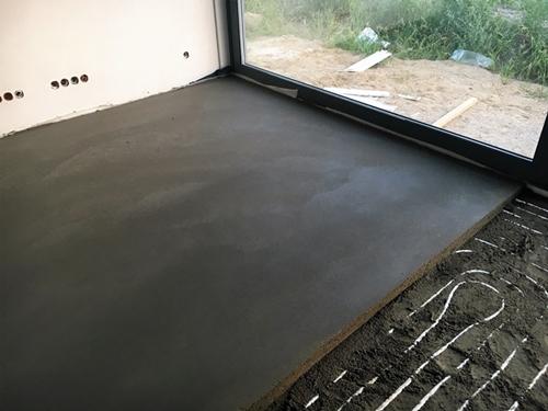 Wysokiej jakości podłoża ogrzewania podłogowego - posadzki anhydrytowe